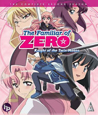 The Familiar Of Zero . Season 2 . Knight Of The Twin Moons . Anime . Blu-ray NEU