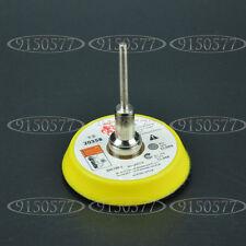 """Abrasives 2"""" Hook&Loop Backer Plate For Dremel SandPaper Buffer Pads 1/8"""" Shank"""
