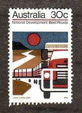 Australia--#552 Used--Cattle Truck Convoy--1973