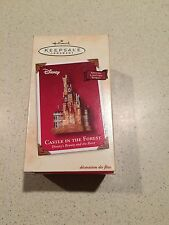 HALLMARK 2002 CASTLE IN THE FOREST DISNEY'S BEAUTY AND THE BEAST ORNAMENT