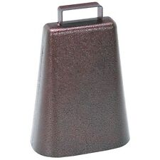 One Steel Cow Bell Cowbell with Decorative Antique Finish Brand New!!!
