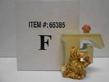 Disney Classic Winnie the Pooh Porcelain Alphabet Letter F featuring Tigger