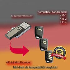 Handsender für Garagentorantriebe 433,92 MHz DHS-1,DHS-2,DHS-3 Funksender