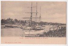 Buques de Recreo Anclados en El Puerto, Sevilla, Spain Early Postcard, B654