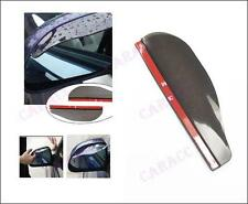 ** New Smart Flexible Plastic Car Rear view mirror Rain Shade Guard Black **