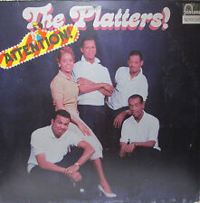 THE PLATTERS - ATTENTION - fortuna 6430 046 - good