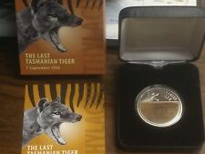 Silver Proof Niue 2011 The Last Tasmanian Tiger