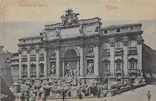 CPA ITALIE ROMA FONTANA DI TREVI (dos non divisé)