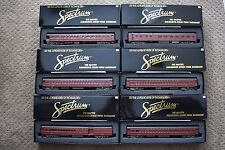 Bachmann Spectrum Pennsylvania (6) Lighted Passenger Car Set