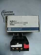 TELEMECANIQUE 0.25 0.4 AMP THERMAL OVERLOAD RELAY LR1 D09305A65 07902 8908