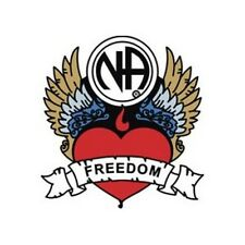 Narcotics Anonymous Recovery Lapel, Hat, Vest Pins, NA Freedom Heart Logo
