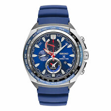 New Seiko Mens Watch SSC489 Prospex World Time