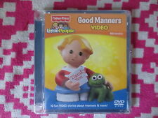 NEW Fisher Price Little People Good Manners Video DVD