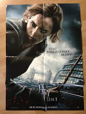 Filmposter * Kinoplakat * A1 * Harry Potter 7.1 * Die Heiligtümer des Todes * B