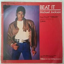 "Michael Jackson Beat It Single 7"" Japón 1982 Portada única"