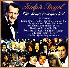 RALPH SIEGEL - 2 CD - Ein Komponistenporträt - GESTERN
