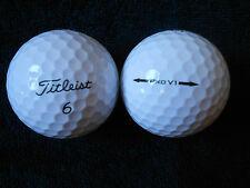 "55  TITLEIST ""PRO V1"" Golf Balls - ""A"" Grade - ""SPECIAL OFFER"""