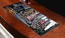 NEW YORK THEME DESIGN BAR RUNNER BAR MAT GREAT GIFT IDEA L&S PRINTS PUBS CLUBS