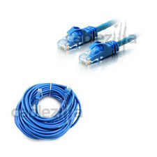 25ft Cat6 Patch Cord Cable 500mhz Ethernet Internet Network LAN RJ45 UTP Blue