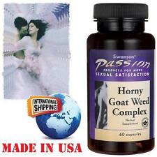 HORNY GOAT WEED COMPLEX -  60 Capsules - Sexual Satisfaction for men & women