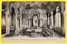 cpa Côte d'Azur MONTE CARLO CASINO Salle de JEU SALON VERT (Roulette)