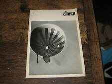 RARE ISSUE NO1 ALBUM MAGAZINE PHOTOGRAPHY FEB70 BRANDT JIM DINE FRIEDLANDER ++