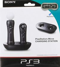Sony PlayStation 3 Move Charging Station - PS3 - EU 2 Pin Plug - NEW & SEALED