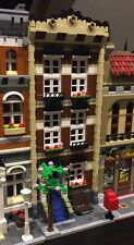 Lego Custom Modular Building. Brown Town House. Like 10182 and 10185
