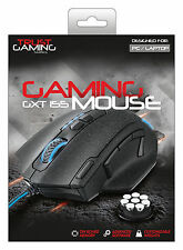 TRUST 20411 GXT155 ELITE GAMING MOUSE, CUSTOMISABLE WEIGHTS PLUS ONBOARD MEMORY