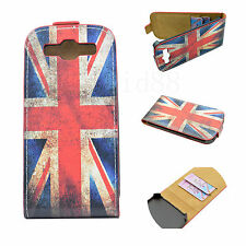 Union Jack Skin Leather Phone Pouch Case Cover For Samsung Galaxy S3 S III i9300