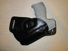 WALTHER CCP FORMED LEATHER SOB, OWB BELT HOLSTER, RH, ULTRA SLIM DESIGN