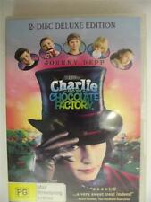 DVD - Charlie and the chocolate factory - Region 4 - Rated PG