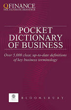 QFINANCE: The Pocket Dictionary of Business (Qfinance the Ultimate Resource),Var