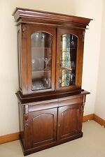 Mahogany Bookcase/Display Cabinet /Buffet Hutch