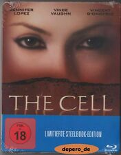"""THE CELL"" - Tarsem Singh - Horror Cult - Jennifer Lopez - Ltd BLU RAY STEELBOOK"