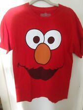 Sesame Street Elmo Red T-Shirt Medium Official 100% Cotton