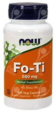 Now Foods FO-TI ( Ho Shou Wu ) - 560mg x100Vcaps