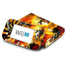 Skin Decal Cover for Nintendo Wii U Console & GamePad - Naruto Shippuden 2
