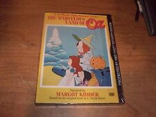 The Marvelous Land of Oz Narrated by Margot Kidder (DVD 2004) Childrens Animated