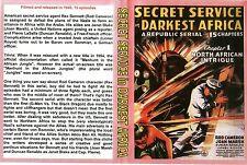 SECRET SERVICE IN DARKEST AFRICA Cliffhanger Chapter Serial