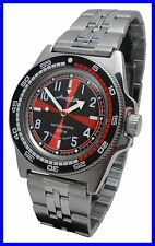 """RADIO ROOM"" AMPHIBIA 200m VOSTOK AUTOMATIC MECHANICAL WATCH !NUOVO! Rc It"
