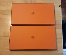 Lot of HERMES PARIS empty boxes  scarves  box EXCELLENT CONDITION !!!