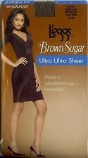 6 Pairs L'eggs Brown Sugar Control Top Pantyhose Stockings M Coffee 50306