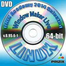 Window Maker Live 0.95.6-1, 64-bit Complete Installation DVD