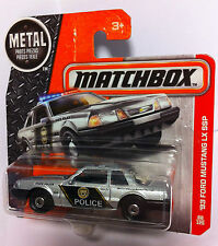 Matchbox *`93 Ford Mustang LX SSP* Police  NEU / OVP