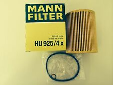 BMW E46 320 323 325 330Ci ENGINE OIL FILTER 11427512300 HU925/4X MANN HUMMEL