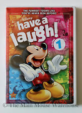 Disney Classic Mickey Donald Goofy Cartoons Have a Laugh Series Volume 1 on DVD