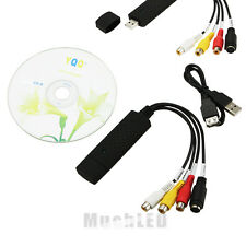 New USB 2.0 Video Audio VHS to DVD Converter Capture Card Adapter USA