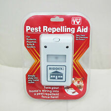 High Quanltiy Riddex Plus Electronic Pest Rodent Control Repeller 220V  Plug GD0