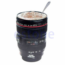 New 24-105mm Lens Thermos Camera Coffee Travel Tea Mug Cup